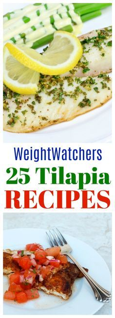 25 Skinny Tilapia Recipes for Weight Watchers with Smart Points Plus