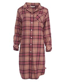Woolrich Women's Flannel Nightshirt