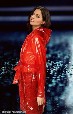 Vinyl Raincoat, Pvc Raincoat, Plastic Raincoat, Plastic Pants, Rainwear For Women, Plastic Mac, Vinyl Clothing, Hooded Cloak, Rain Wear
