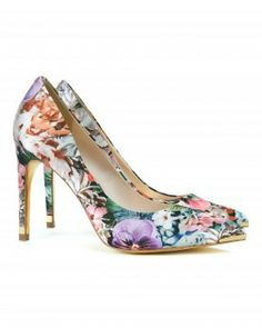 If you love mixing prints, these floral heels are a great place to start. Pair them with a striped dress for a subtle spring look.$200 via StyleListCanada