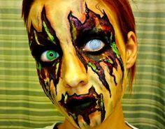 ACID SPILL ZOMBIE, Halloween Makeup Ideas for Women, Men and Kids