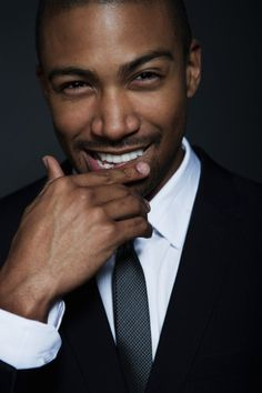 charles michael davis -  omg, that smile! Can't wait to watch The Originals.
