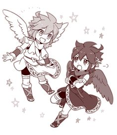 428 Best Kid Icarus Uprising Images On Pinterest In 2018