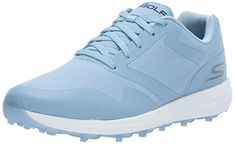Goga Max insoles in these womens max golf shoes by Skechers delivers enhanced high rebound cushioning! Best Golf Shoes, Womens Golf Shoes, New Balance Minimus, Shoe Crafts, Athletic Looks, Nike Lunar, Best Player, Rain Wear, Golf Outfit