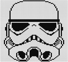 Pattern set number two! These are the gridded patterns I used for my double knit Star Wars blanket. Each pattern is 60 stitches wide and 71 tall and makes one square out of the nine total used in t… Cat Cross Stitches, Cross Stitching, Cross Stitch Embroidery, Cross Stitch Patterns, Loom Patterns, Star Wars Quilt, Star Wars Crochet, Leia Star Wars, Cross Stitch For Kids