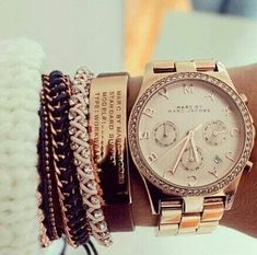 Marc Jacobs watch #love #bracelets