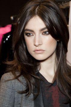 Blumarine #JacquelynJablonski #backstage #make up..... Cool shades