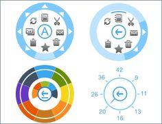 windows 8 radial menu