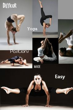 27 best hard yoga poses images in 2019  yoga exercises