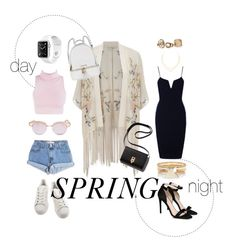 """spring day•evening"" by welcometofck ❤ liked on Polyvore featuring adidas, Levi's, Le Specs, STELLA McCARTNEY, River Island, Lana, Miss Selfridge and Michael Kors"