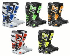 Their newest innovation to date, the Axo A2 Dirt Bike Boots are specially designed for supercross and motocross use.