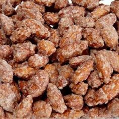 Crock Pot Cinnamon Almonds...but I will do pecans instead...bet my house will smell yummy