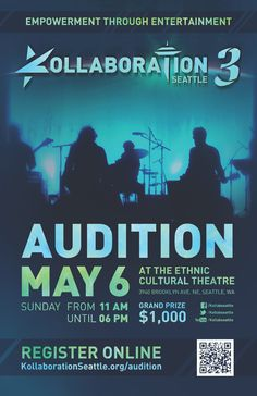 Kollaboration Seattle 3 Auditions