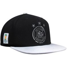 1eb0d929fe2 adidas Germany 2014 World Cup Snapback Hat - Black White