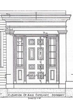 Greek Revival Doors   Greek Revival R. Tipton House