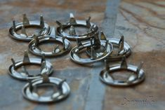 Aplikace kovových druků (videonávod) – Caramilla.cz Cufflinks, Wedding Rings, Engagement Rings, Accessories, Jewelry, Enagement Rings, Jewlery, Jewerly, Schmuck