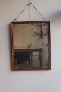 mirror images {Howe London via Ill Seen, Ill Said} Wabi Sabi, Old Mirrors, Vintage Mirrors, Vintage Decor, Beautiful Mirrors, Beautiful Images, Ivy House, Mirror Image, Mirror Mirror