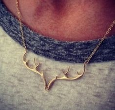 Antler Necklace! When your from the upper peninsula you definatly need this especially for deer season!