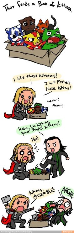 Hahaha Sorry about Loki, but I thought you'd enjoy it anyway ;)