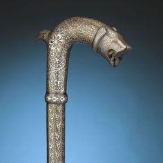 """art-of-swords: """"Dagger Cane Hard Metal, Self Defense, Antique Art, Swords, Metal Working, Weapons, Door Handles, Brass, Culture"""