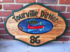 The Carving Company | Full Service Custom Carved Sign Shop | Camp Sign / Family Name Sign