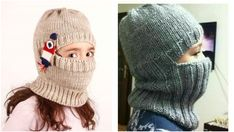 Making Mask Berets for Children Who Go to School in The Morning Cold Baby Knitting Patterns, Knitting Stitches, Sewing Patterns Free, Free Sewing, Knitted Beret, Crochet Beanie, Crochet Hats, Viking Tattoo Design, Viking Tattoos
