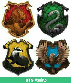 Hogwarts House Crests Simple Crest Fits With The