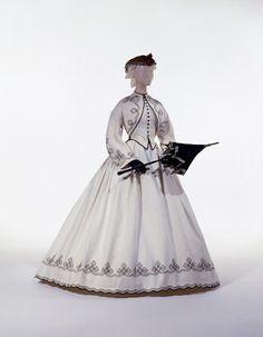 Dress, Promenade Date:1862–64 Culture: American Medium: cotton