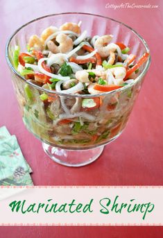 marinated shrimp | Cottage at the Crossroads