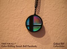 Color Shifting Smash Ball Necklace from Super Smash Bros.