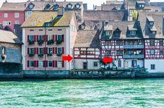 Umbauobjekt direkt am Rhein