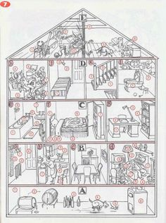 1000 images about la maison et la ville on pinterest fle vocabulary and f - Piece de la maison en c ...