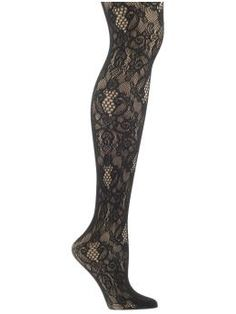 Oooh, I like these. Piperlime Python Net Tight by Hue $18.00
