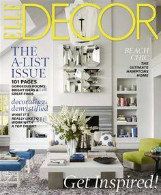 Elle Decor Magazine Price 450 with Coupon Code DECOR ELLE