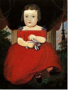 """""""Little Miss Fairfield,"""" 1850, William Matthew Prior (1806-1873)"""