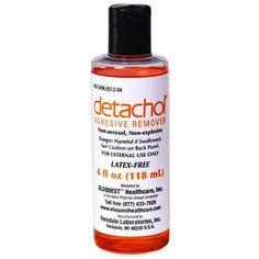 Detachol Adhesive Remover 4 Oz