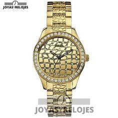 Increíble ⬆️😍✅ Guess - Reloj Analógico de Cuarzo para Mujer 😍⬆️✅ , Modelo perteneciente a la Colección de RELOJES GUESS ➡️ PRECIO 115 € En Oferta Limitada en 😍 https://www.joyasyrelojesonline.es/producto/guess-guess-reloj-analogico-de-cuarzo-para-mujer-correa-de-acero-inoxidable-color-dorado/ 😍 ¡¡Edición limitada!! #Relojes #RelojesFestina #Festina Compralo en…