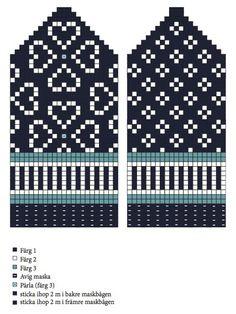 Halmstadvantar för vuxen och baby – Dela dina vantar! Knitted Gloves, Knitting Charts, Knitting Patterns, Diagram Chart, Fair Isle Pattern, Yarn Projects, The Dreamers, Stitch Patterns, Mittens
