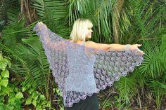 Ravelry: Lilaberry Crochet Lace Shawl pattern by Kristin Omdahl