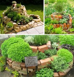 Spiral Garden, Herb Garden, Balcony Garden, Garden Beds, Home Vegetable Garden Design, Plantas Bonsai, Pond Landscaping, Farm Gardens, Diy Garden Decor