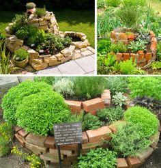 Vysněná zahrada: O bylinkové spirále