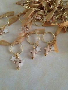 50pcs Martyrika-Key Chain-Favors-Greek Orthodox Baptism