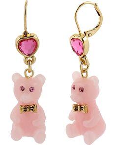 Betsey Johnson Gummy Bear earrings