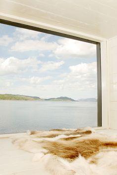 Interiors Windows of Hotel Kirkenes in Norway by Sami Rintala