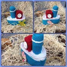 gehäkeltes Boot / crochet boat