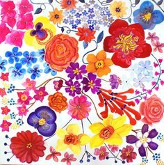 Playful flowers are perfect for spring
