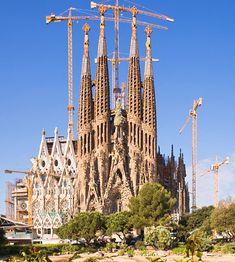 La Sagrada Familia;Barcelona, Spain.