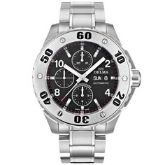 DELMA 41702.610.6.034 (2019 B+P) Luxury Watches, Rolex Watches, Pre Owned Watches, Breitling, Casio Watch, Cartier, Omega, Buy And Sell, Stuff To Buy