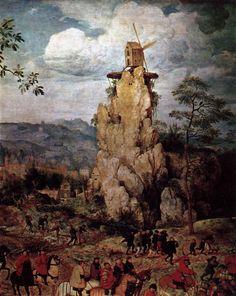 Pieter Bruegel the Elder  c. 1564  Christ Carrying the Cross (detail)