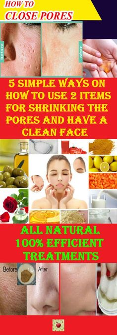 5 Simple Ways On How To Use 2 Items For Shrinking The Pores